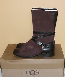 UGG Australia Deanna Deep Bordeaux Brown Boots