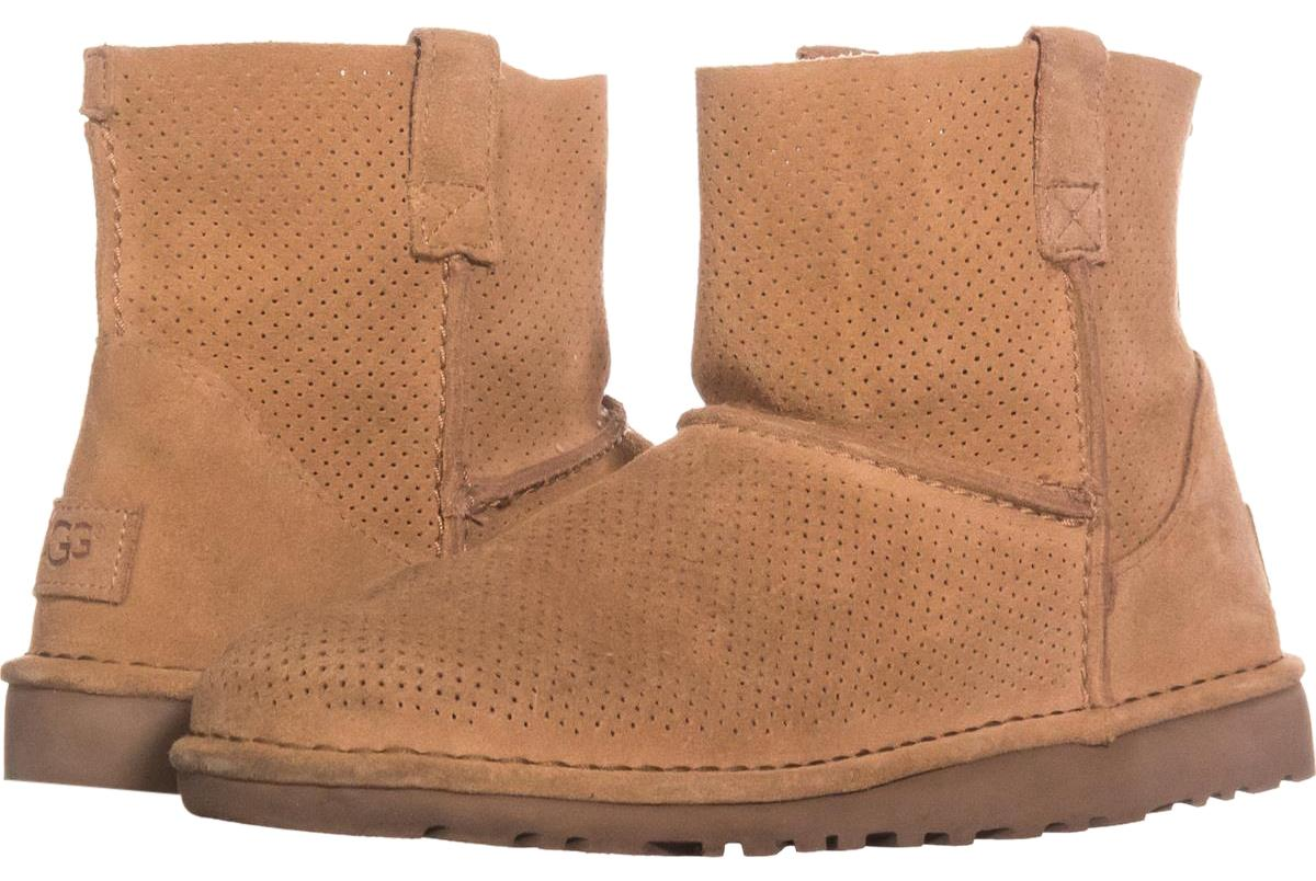 91247b7cceb spain ugg classic mini ankle boots brown 5km beb6b 51e4a