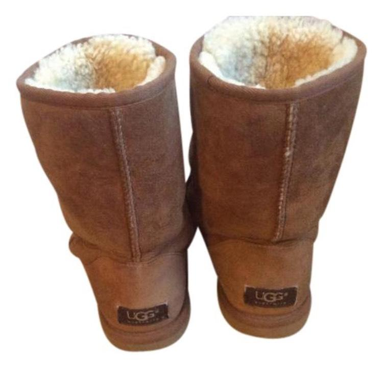 UGG Taille Australia Brown/ 3857 Suede Classic Bottes/ Bottines Classiques Taille US 7 c9712dd - deltaportal.info
