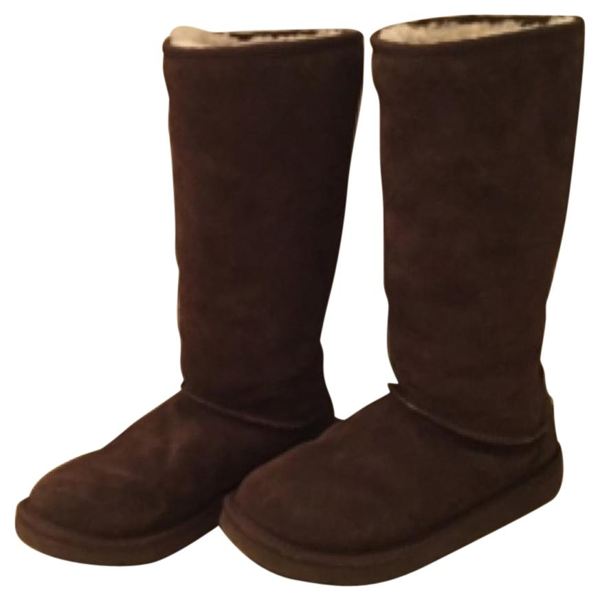 UGG Australia Brown Boots. UGG Australia Brown Tall Quilted ...