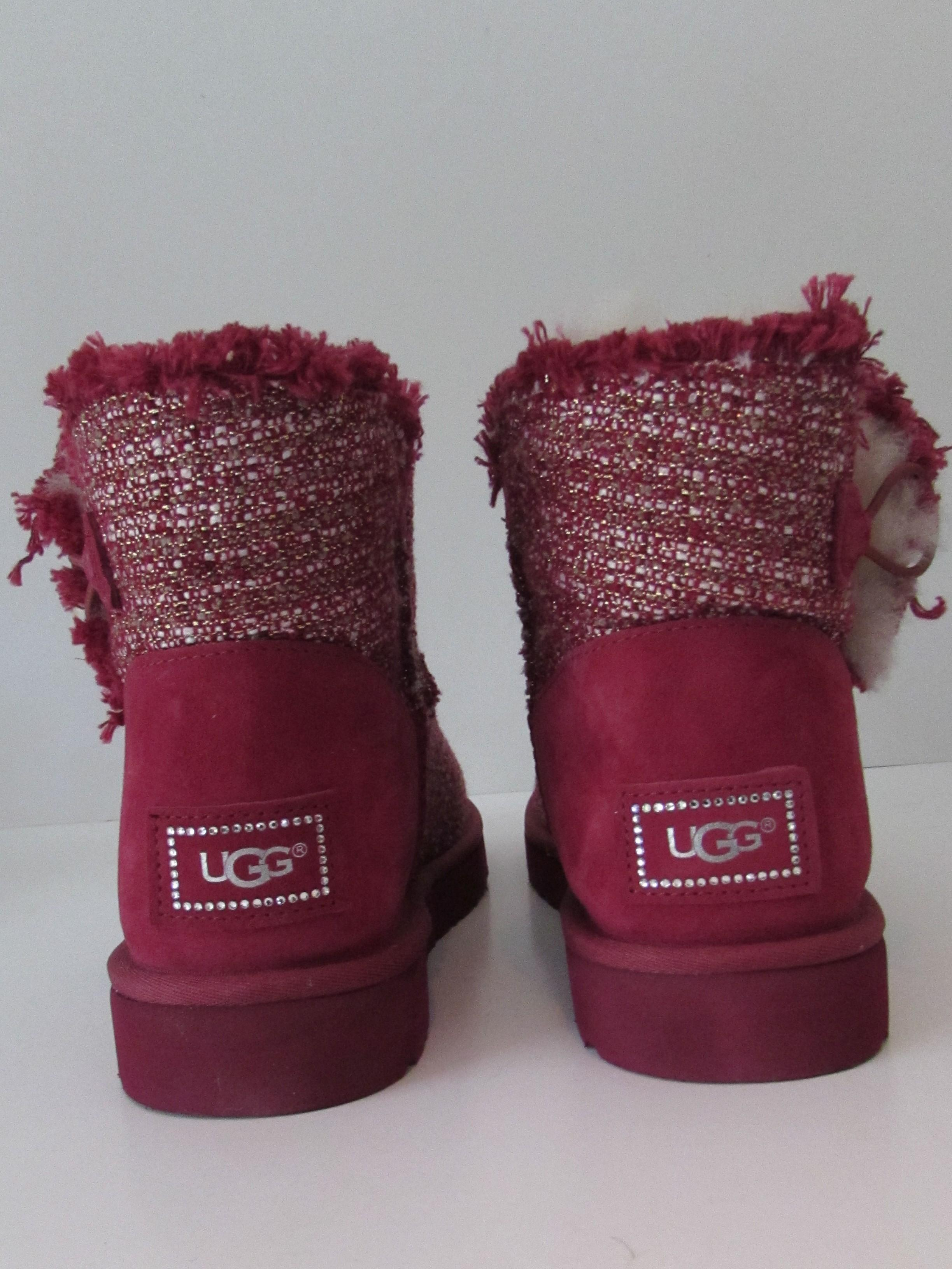 e632b005816 canada ugg australia mini bailey button fancy booties heels bcf9f aac9b