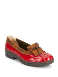 UGG Australia Loafers Red Flats