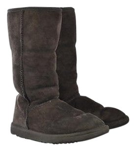 UGG Australia Womens 7w Wide Suede Brown Boots