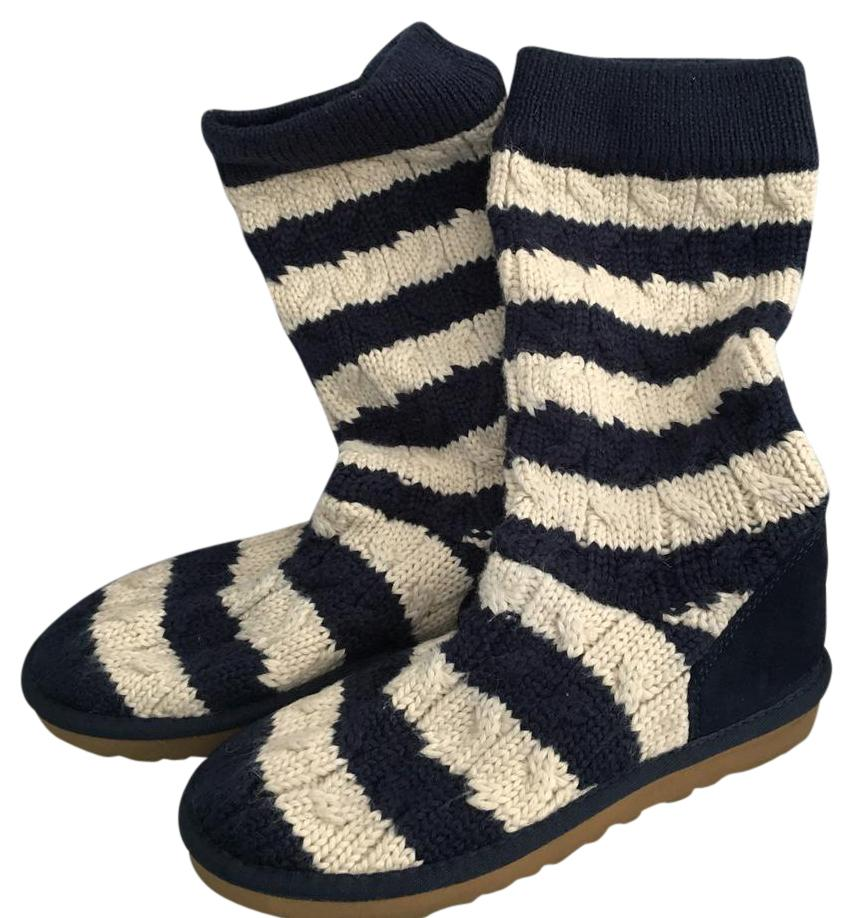 UGG Australia navy and cream Boots ...