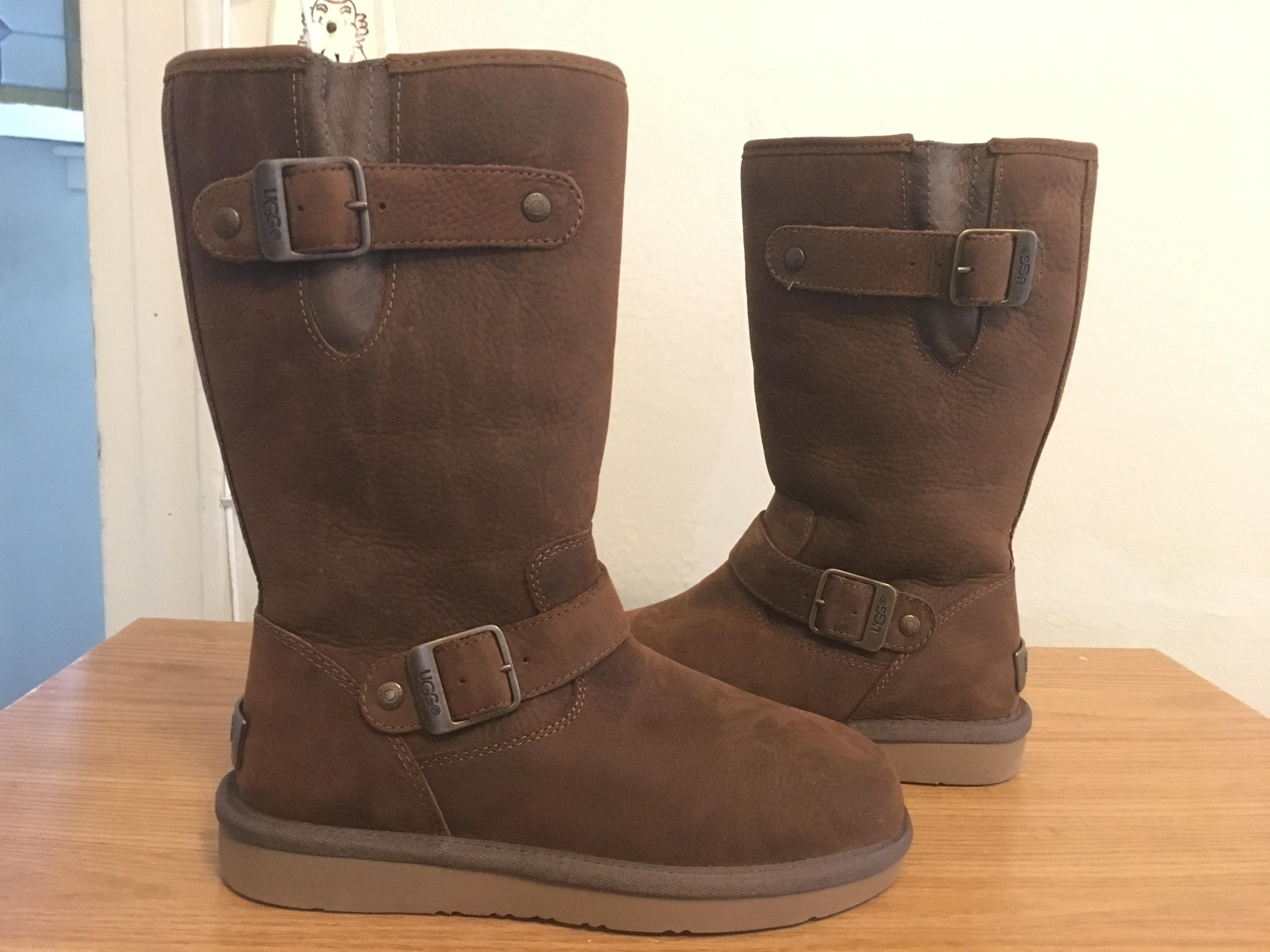 211dfcc1a0f3 ... top quality ugg australia water resistant uggpure wool lining leather  upper toast boots 0656b d7dff