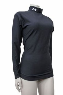Under Armour Under Armour Womens Long Sleeve Nylon Mock Neck Top Athletic