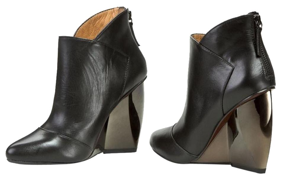 United Nude Leather Wedge Boots 100% original cheap price 8yhsCH0Y