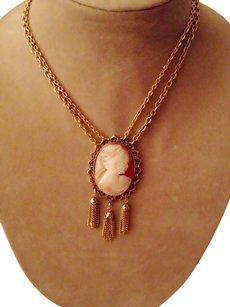 Other Vintage Cameo Necklace