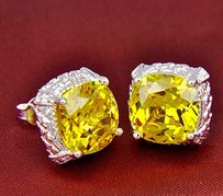 Other Citrine Stud Earrings