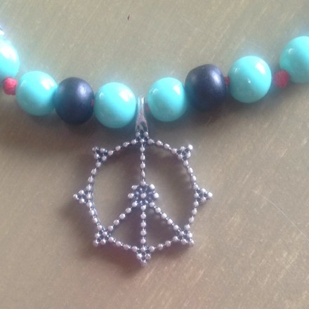 Other Beaded Beach Necklace