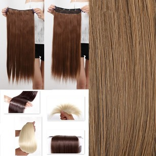 Unknown Reduced Full Head Clip In Hair Extension Free Shipping