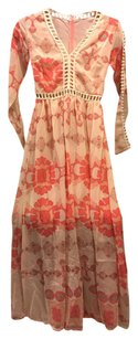 Peach/Coral Maxi Dress by Urban Outfitters