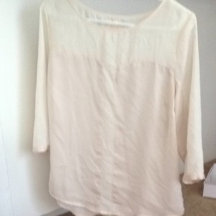 high-quality Urban Outfitters Cream Top - 70% Off Retail - hydroclean.no 77f89dd24