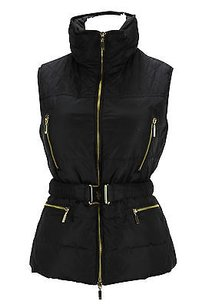 U.S. Polo Assn. 10774 Black Womens Vest