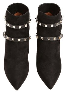 Valentino Ankle 7.5 37.5 Black Boots