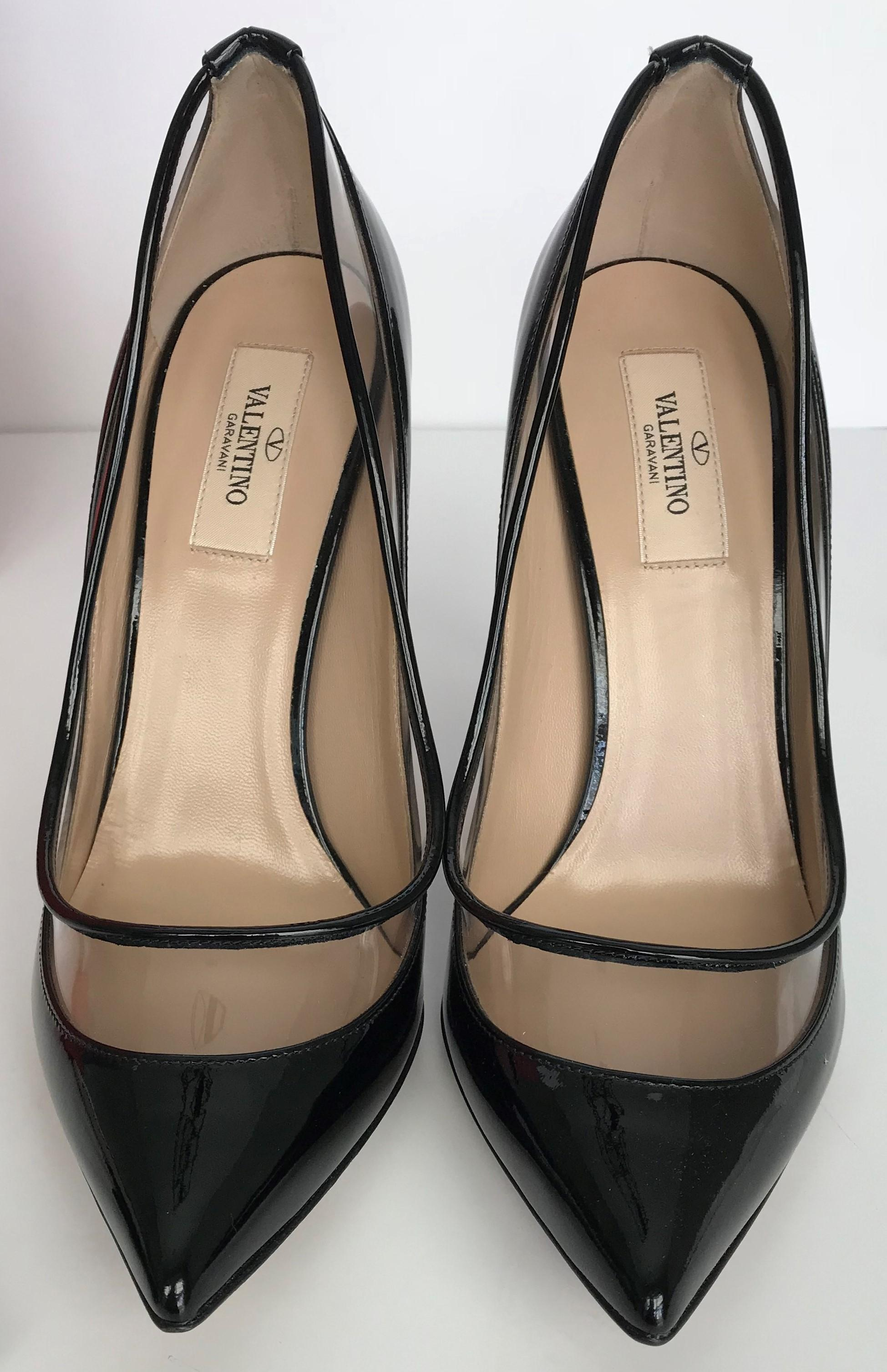 db417a0d62ea ... Valentino Black Dolly Bow Bow Bow Patent Leather Removable Bows Pumps  Size EU 39 (Approx ...