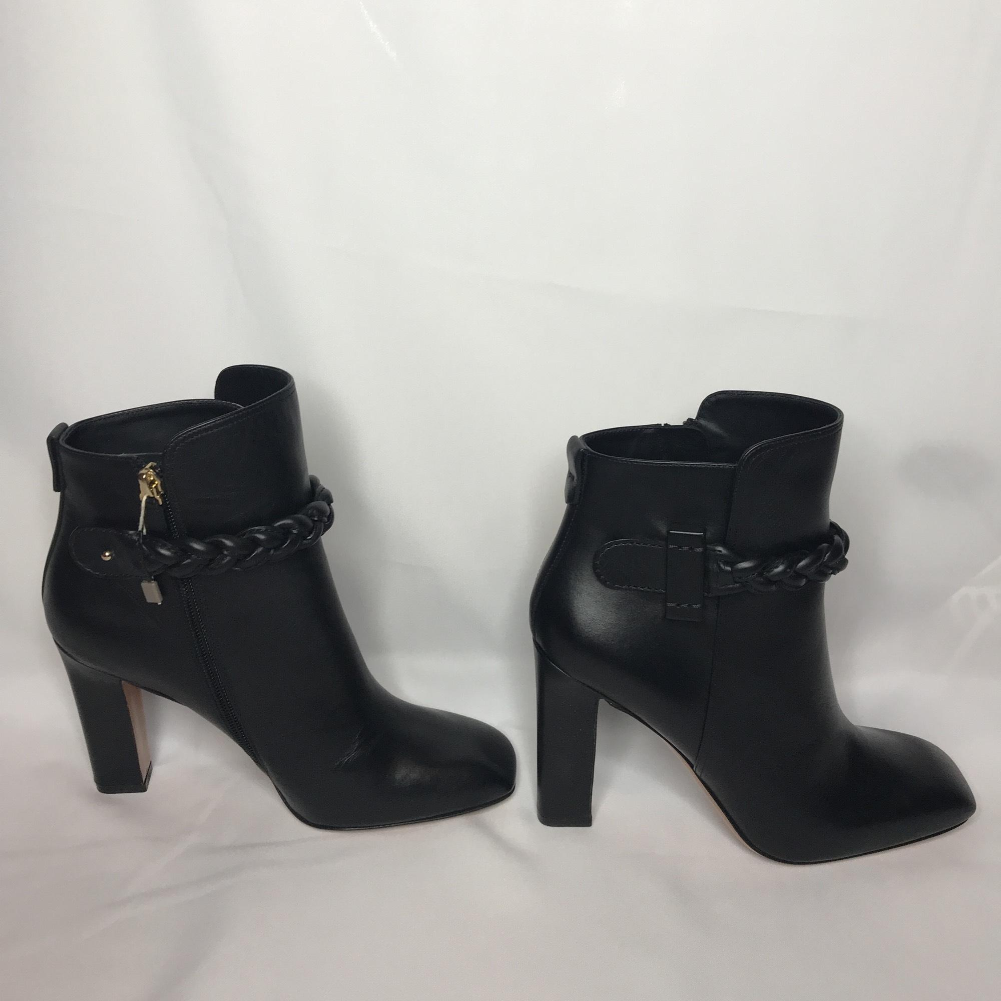 e8377dbe80fd US 10.5 Valentino Black New Boots Booties Size EU 40.5 40.5 40.5 (Approx.
