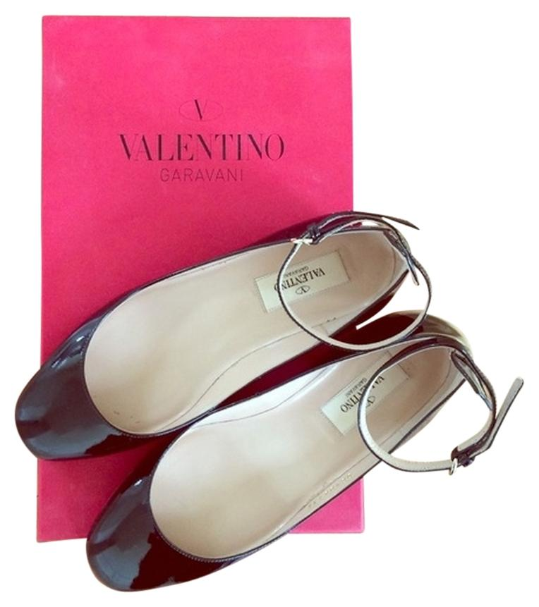 Valentino Black Tan Go Patent Pumps Size Regular US 5 Regular Size (M, B) f7e1af