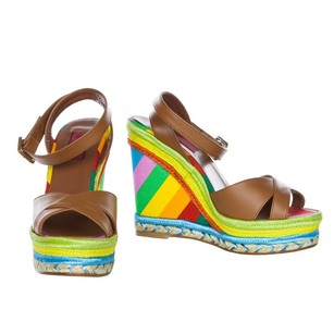 Valentino Multi/Print Wedges