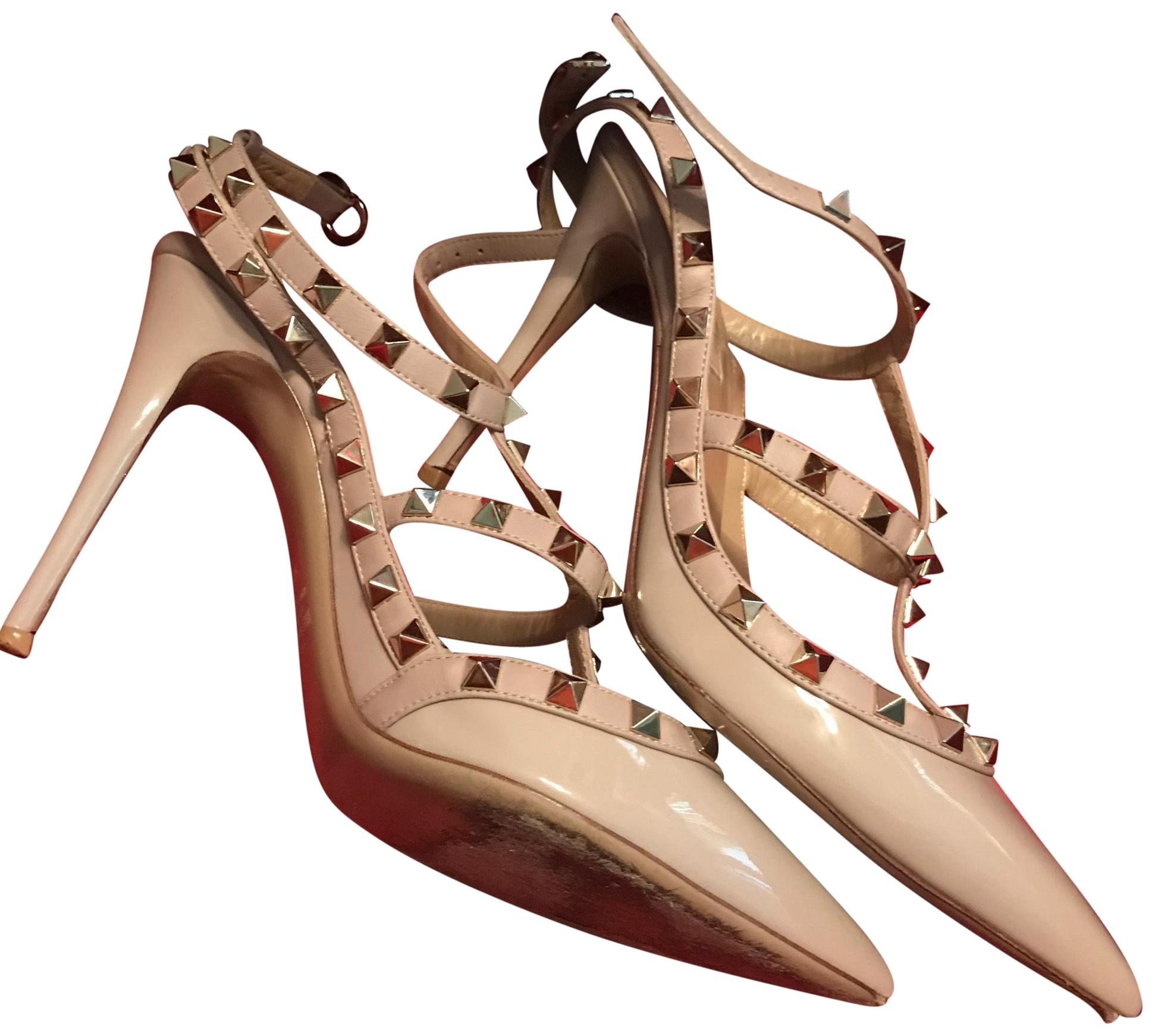 Valentino Nude / Pink Zw2s0393vnw Pumps Size EU 40 (Approx. US 10) Regular (M, B)