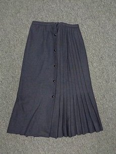 Valentino Boutique Navy Skirt Blue