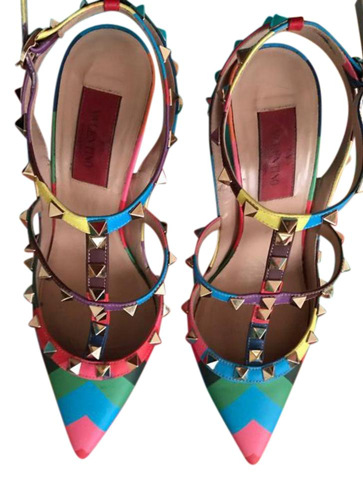 2f33bed70 Valentino Rainbow Collection - Up to 70% off at Tradesy