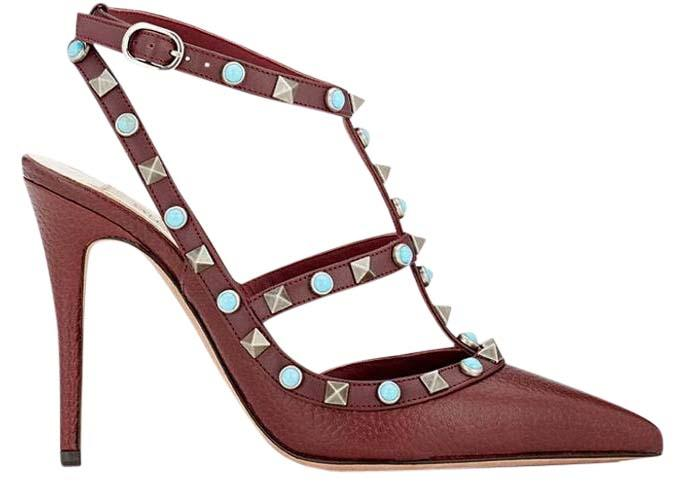 cheap wholesale buy authentic online Valentino T-Strap Embellished Pumps Cheapest online cheap exclusive Lu9pguDzmN
