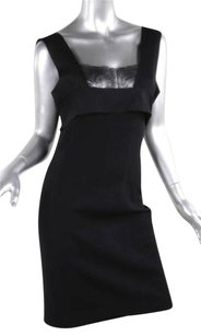 Valentino Womens Knit Lace Sleeveless Bodycon Bandage 46us Dress