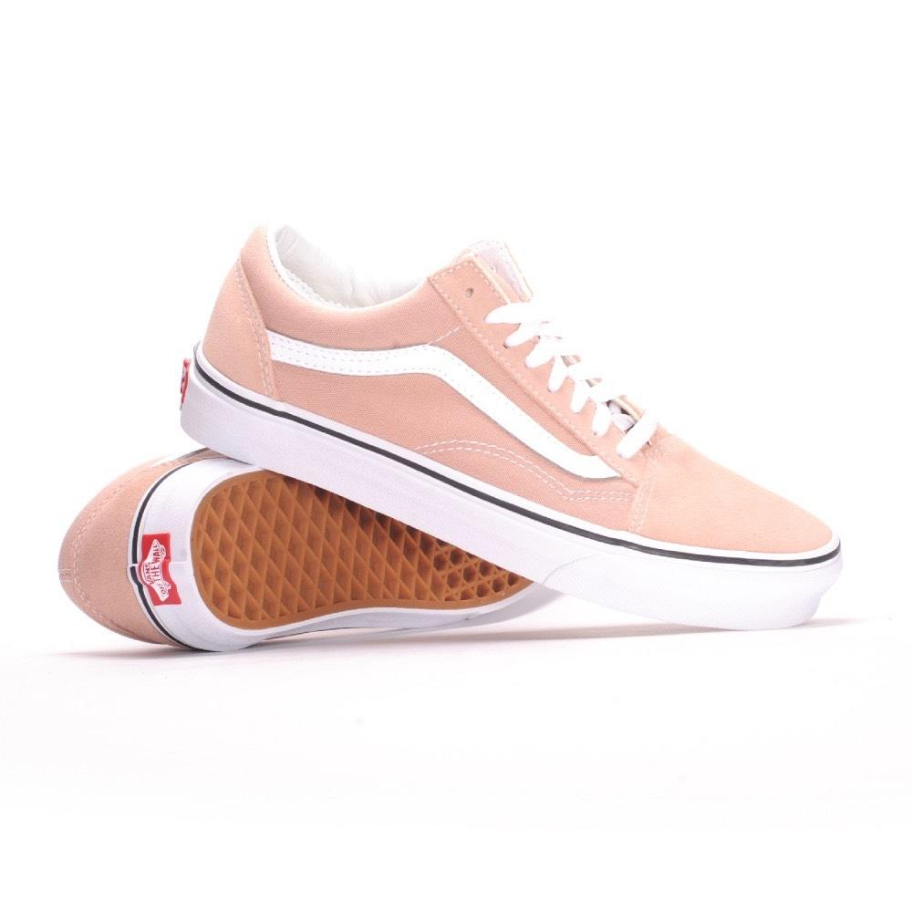 Vans Mahogany Rose/True White Old Skool Sneakers Size US 7 Regular (M B) - Tradesy