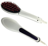 Vecceli Italy ELECTRIC HAIR STRAIGHTENER BRUSH VHB-02WHITE