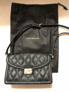Vera Bradley Leather Quilted Cross Body Bag