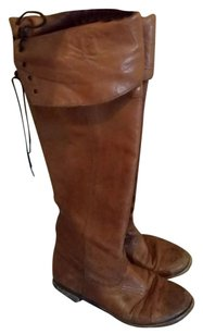 vera gomma Vintage Bohemian Leather brown Boots