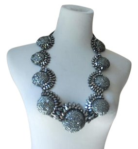 Vera Wang Authentic VERA WANG CRYSTAL quirky STATEMENT NECKLACE $875