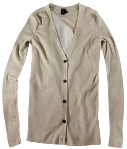 Vera Wang Cardigan Origami Ribbed Sweater