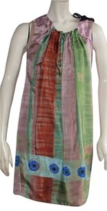 Vera Wang short dress Multi-Color Multi Color Water on Tradesy