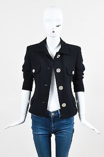 Versace Gianni Couture Black Jacket