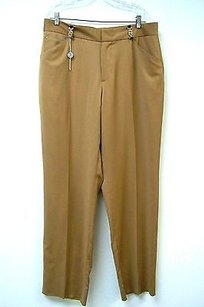 Versace Jeans Couture Italy Tan Cashmere Pants