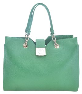 Versace Collection Tote in Green