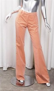 Versace Womens Peach Pants