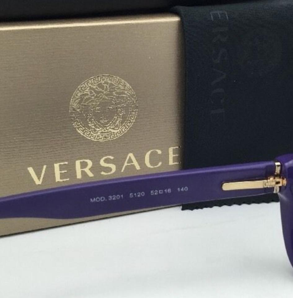 Versace New 3201 5120 52-16 140 Purple Frames Sunglasses - Tradesy