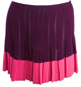 Versace Vintage Couture Skirt Pink