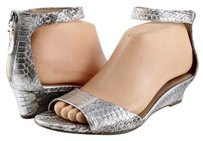Via Spiga Terrilyn Silver Silver/ Metallic Sandals