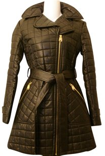 Via Spiga Vogue Quilted Robe Coat