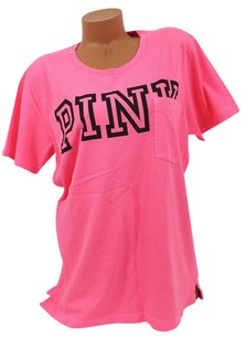 Victoria's Secret Victorias Campus T Shirt Pink