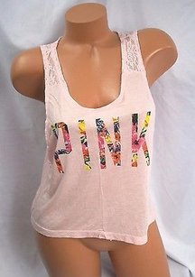 Victoria's Secret Victorias Crop T Shirt Pink