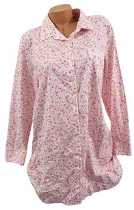 Victoria's Secret Victorias Secret Lmayfair Cotton Sleep Shirt Pajama Pj Pink Yellow Floral