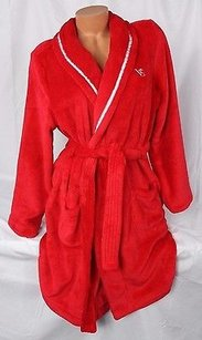 Victoria's Secret Victorias Secret Cozy Short Robe Luxury Plush Supersoft Red