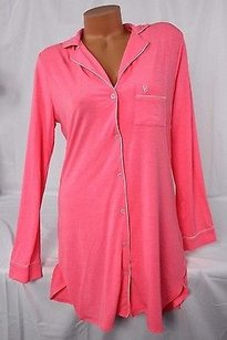 Victoria's Secret Victorias Secret Modal-blend Soft Sleepshirt Night Gown Pajama Pj Pink