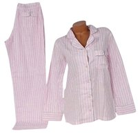 Victoria's Secret Victorias Secret Sleepover Pjcotton Pajama Set Signature Stripe