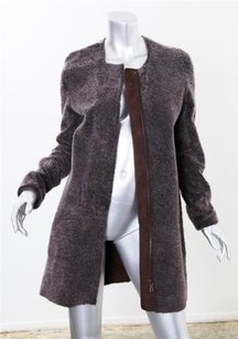 Vince Womens Shearling Coat